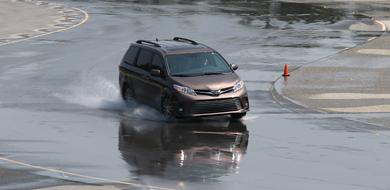 Wet Road Course